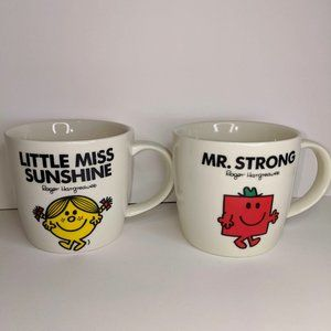 Little Miss Sunshine and Mr Strong Mug